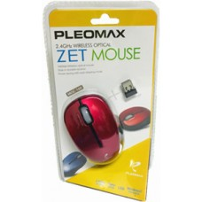 PLEOMAX 2.4GHZ WIRELESS OPTICAL  MOUSE