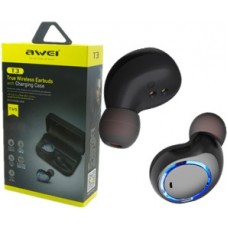 AWEI TRUE WIRELESS EARBUDS WITH CHARGING CASE