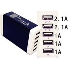 5 USB PORTS DESKTOP CHARGER 7A(MAX) L:1.5M