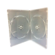 DVD SLIM CASE 2 DVD (TRANSPARENT) 1PKT=10PCS